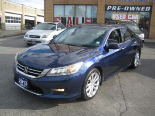 Used 2013 Honda Accord Sedan TOURING,NAVIGATION,R. CAMERA,V6,LEATHER,SERVICE RE for sale in North York, ON