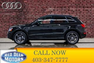 Used 2016 Audi Q5 Quattro Technik S-Line Leather Roof Nav for sale in Red Deer, AB