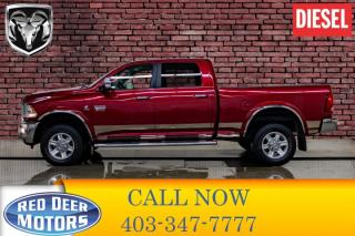 Used 2012 RAM 3500 4x4 Crew Cab Laramie Diesel Leather Roof Nav for sale in Red Deer, AB