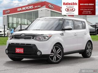 Used 2015 Kia Soul SX for sale in Mississauga, ON
