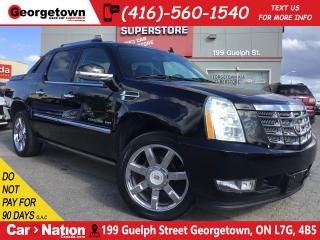 Used 2013 Cadillac Escalade EXT AWD | NAVI | ROOF | LEATHER | CAM | 95, 996KMS for sale in Georgetown, ON