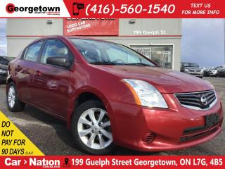 Used 2012 Nissan Sentra 2.0 S | ALLOYS | POWER OPTIONS | ONLY 96, 631KMS for sale in Georgetown, ON