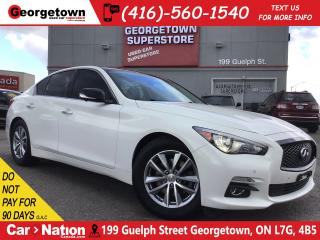 Used 2015 Infiniti Q50 AWD | NAVI | 360 CAM | LEATHER | ROOF for sale in Georgetown, ON