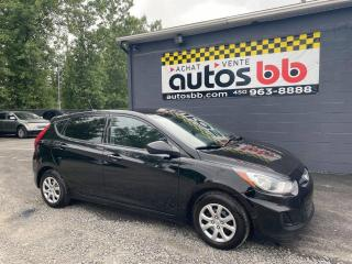 Used 2014 Hyundai Accent Manuelle for sale in Laval, QC