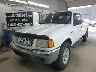 Used 2003 Ford Ranger 2003 Ford Ranger - 2dr Supercab 4.0L XL Fleet 4WD for sale in St-Raymond, QC