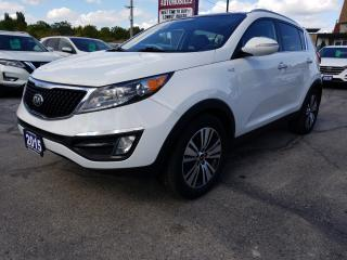 Used 2015 Kia Sportage EX Luxury SUNROOF !!  BLUE TOOTH !!  AWD !! for sale in Cambridge, ON