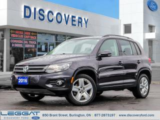 Used 2016 Volkswagen Tiguan Highline for sale in Burlington, ON