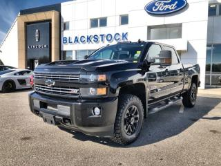 Used 2019 Chevrolet Silverado 2500 Heavy Duty 4x4 & 6.6 Duramax with Midnight Edition 1LT for sale in Orangeville, ON