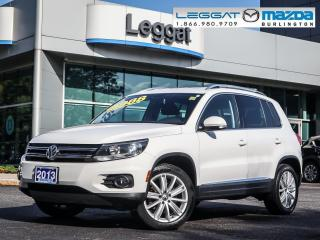 Used 2013 Volkswagen Tiguan Highline- AWD, LEATHER, MOONROOF, 2.0L TURBO for sale in Burlington, ON
