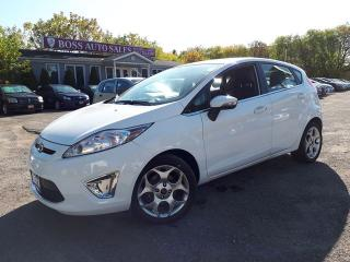Used 2011 Ford Fiesta SES for sale in Oshawa, ON