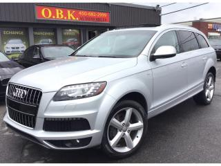 Used 2011 Audi Q7 S LINE-QUATTRO-TOIT PANORAMIQUE-CAM RECUL-DIESEL for sale in Laval, QC