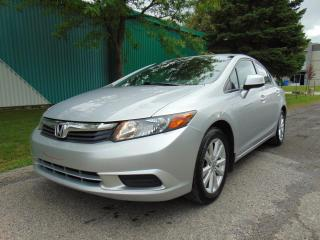 Used 2012 Honda Civic 4 portes boîte manuelle EX for sale in St-Eustache, QC