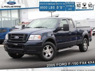 Used 2005 Ford F-150 FX4 4WD**CRUISE*A/C*GROUPE ELECTRIQUE** for sale in Victoriaville, QC