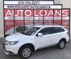 Used 2016 Mitsubishi Outlander ES -All Credit Approved for sale in Scarborough, ON