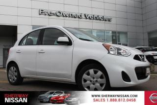 Used 2016 Nissan Micra One owner accident free trade. Nissan certified preowned! for sale in Toronto, ON