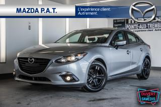 Used 2014 Mazda MAZDA3 M-3 GS+TOIT+CAMERA+AUTO+BLUETOOTH+MAG for sale in Montréal, QC