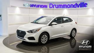 Used 2019 Hyundai Accent ESSENTIAL + 39$ / SEM + CAMERA RECUL + W for sale in Drummondville, QC