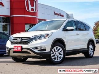 Used 2016 Honda CR-V EX-L-->1 Owner w/Clean CarFax and more!!!! for sale in Milton, ON