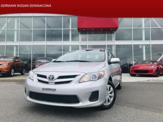 Used 2011 Toyota Corolla CE - BAS KILO *** 59$ / SEMAINE *** for sale in Donnacona, QC