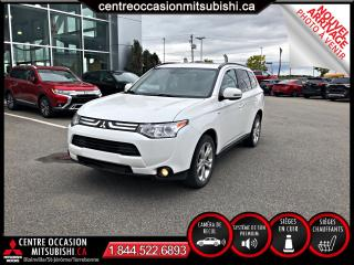 Used 2014 Mitsubishi Outlander GT S AWC CUIR V6 7 PASSAGERS for sale in St-Jérôme, QC