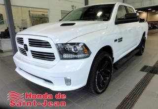 Used 2017 RAM 1500 CREW CAB 4RM, 140,5 po Sport Navi Mags 2 for sale in St-Jean-Sur-Richelieu, QC