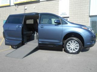 Used 2017 Toyota Sienna XLE-Wheelchair Accessible Side Entry-Power for sale in London, ON