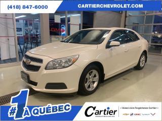 Used 2013 Chevrolet Malibu CAMERA DE RECUL * CUIR * PNEUS HIVER for sale in Québec, QC