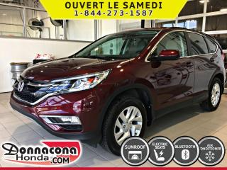 Used 2016 Honda CR-V EX AWD *GARANTIE 10 ANS/200 000KM * for sale in Donnacona, QC