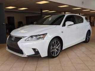 Used 2015 Lexus CT 200h F Sport GPS Cuir Toit Mags for sale in Pointe-Aux-Trembles, QC