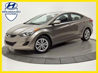 Used 2012 Hyundai Elantra GL, SIÈGES CHAUFFANTS, A/C, GROUPES ÉLECTRIQUES for sale in Brossard, QC