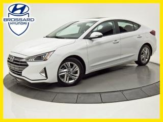 Used 2019 Hyundai Elantra PREFERRED, TOIT OUVRANT, CAM DE RECUL for sale in Brossard, QC