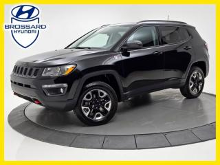 Used 2017 Jeep Compass TRAILHAWK, NAV, TOIT PANO, CAM DE RECUL for sale in Brossard, QC