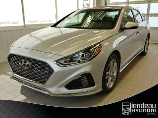 Used 2019 Hyundai Sonata Essential SPORT + TOIT OUVRANT + CUIR + BLUETOOTH for sale in Ste-Julie, QC