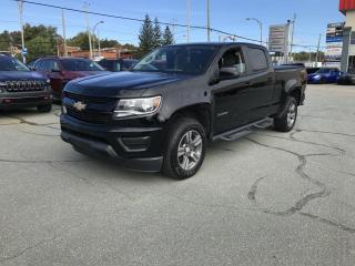 Used 2017 Chevrolet Colorado CREW CAB 4X4 V-6 W/T for sale in Sherbrooke, QC