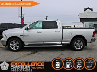 Used 2015 RAM 1500 BIG HORN 4X4 CREW *CAMERA/ENSEMBLE CHAUF for sale in Vaudreuil-Dorion, QC