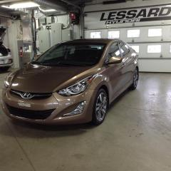 Used 2015 Hyundai Elantra Berline 4 portes, boîte manuelle, GLS for sale in Québec, QC