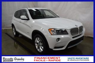 Used 2014 BMW X3 xDrive28i-Toit pano-Cuir++ for sale in Cowansville, QC