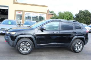 Used 2019 Jeep Cherokee Trailhawk Elite for sale in Brampton, ON