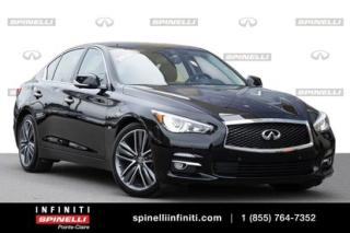 Used 2016 Infiniti Q50 3.0t PREMIUM TECH / GPS / 360 CAMERA / SUNROOF PREMIUM TECH / GPS / 360 CAMERA / SUNROOF for sale in Montréal, QC
