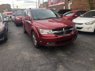 Used 2009 Dodge Journey R/T AWD CAM LEATHER CERTIFIED for sale in Toronto, ON
