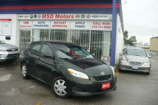 Used 2013 Toyota Matrix BASE  ONE OWNER for sale in Toronto, ON