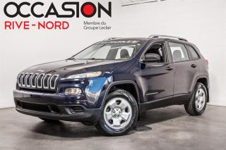 Used 2014 Jeep Cherokee Sport 4x4 SIEGES.CHAUFFANTS+GR.REMORQUAGE for sale in Boisbriand, QC