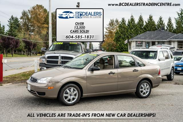 2005 Ford Focus ZX4 SE, Only 88k, Local, No Accidents, Clean!