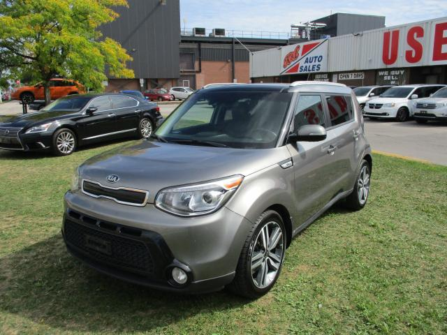 2016 Kia Soul SX Luxury~LEATHER~NAV.~BACK-UP CAM.~CERTIFIED