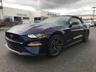 Used 2019 Ford Mustang EcoBoost décapotable Automatique 101A for sale in St-Eustache, QC