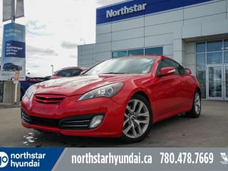 Used 2010 Hyundai Genesis Coupe 3.8 AUTO/LEATHER/SUNROOF/HEATEDSEATS for sale in Edmonton, AB