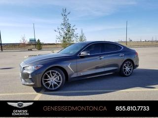 Used 2020 Genesis G70 2.0T Prestige for sale in Edmonton, AB