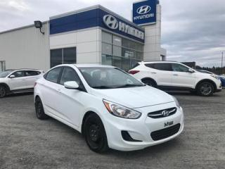 Used 2015 Hyundai Accent 4 portes GL automatique for sale in Matane, QC