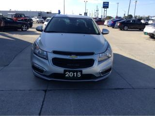 Used 2015 Chevrolet Cruze 1LT / GREAT ON GAS / NO PAYMENTS FOR 6 MONTHS for sale in Tilbury, ON