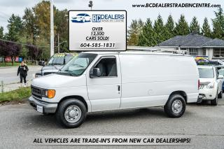 Used 2006 Ford Econoline E-150 Cargo Van, 197k, V8, Ladder Racks! for sale in Surrey, BC